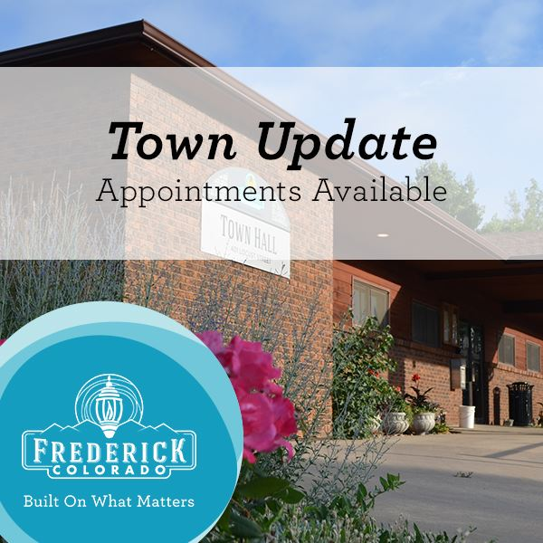Town Update Appointments Available