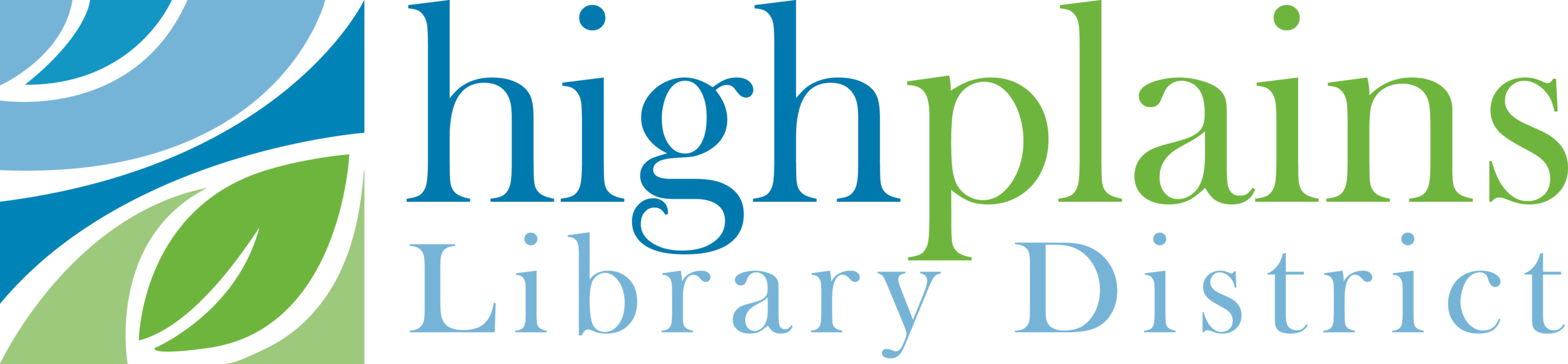 High Plains Library District Logo