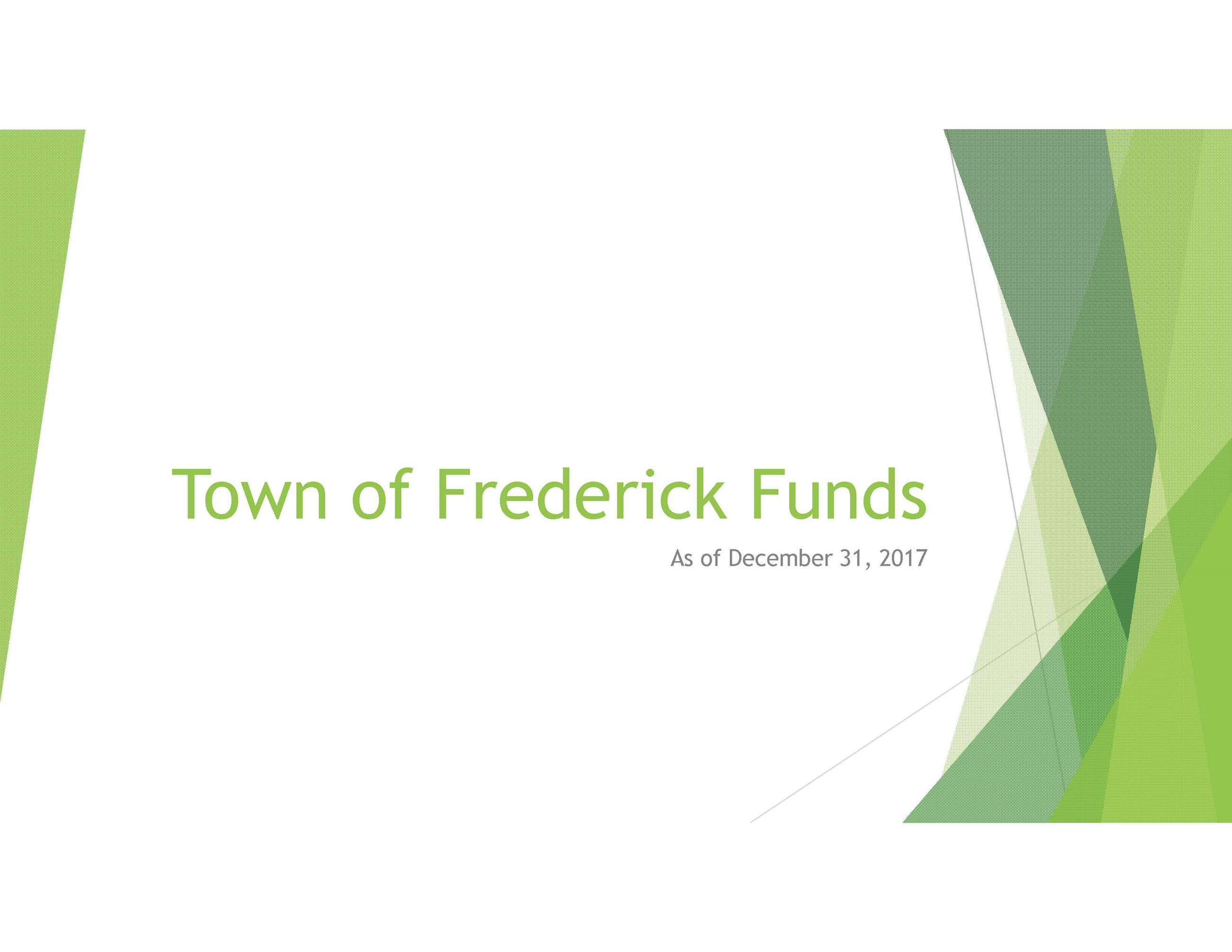 Town of Frederick Funds New Pg1