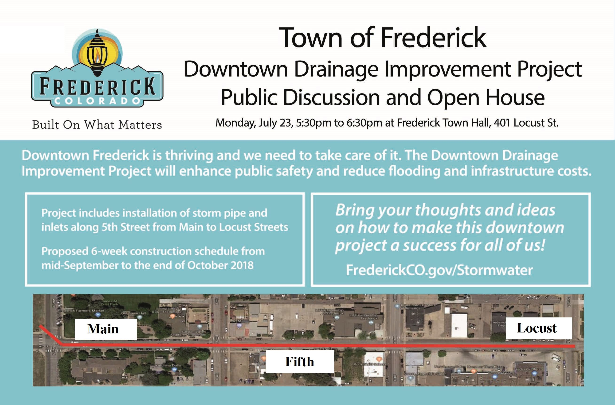 Town of Fred Open House back