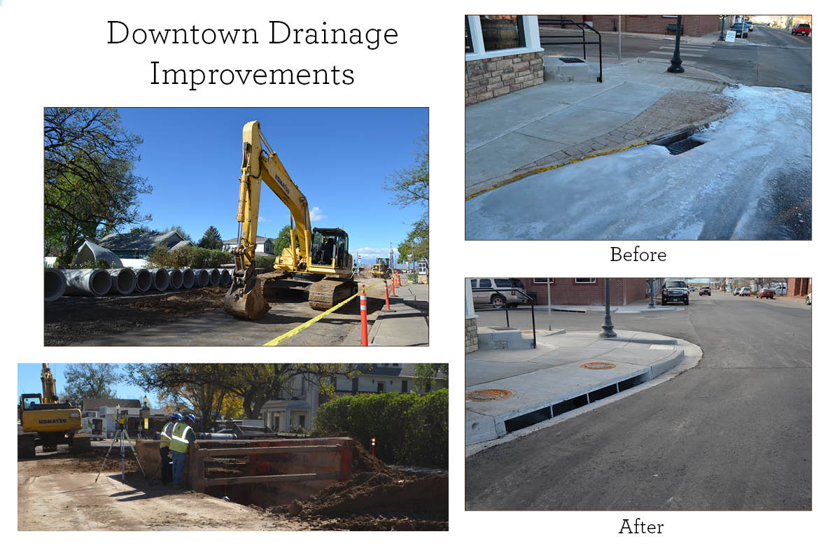 1. Downtown Drainage Improvements