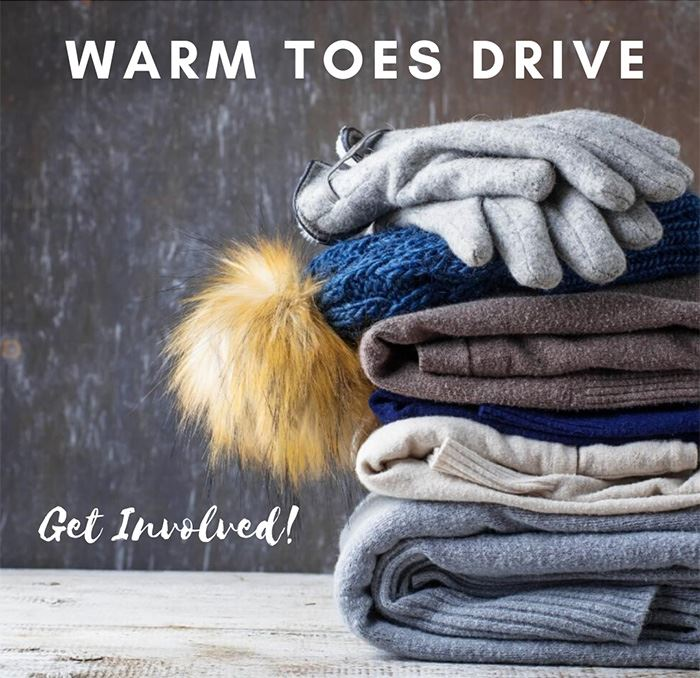 warm toes drive picture