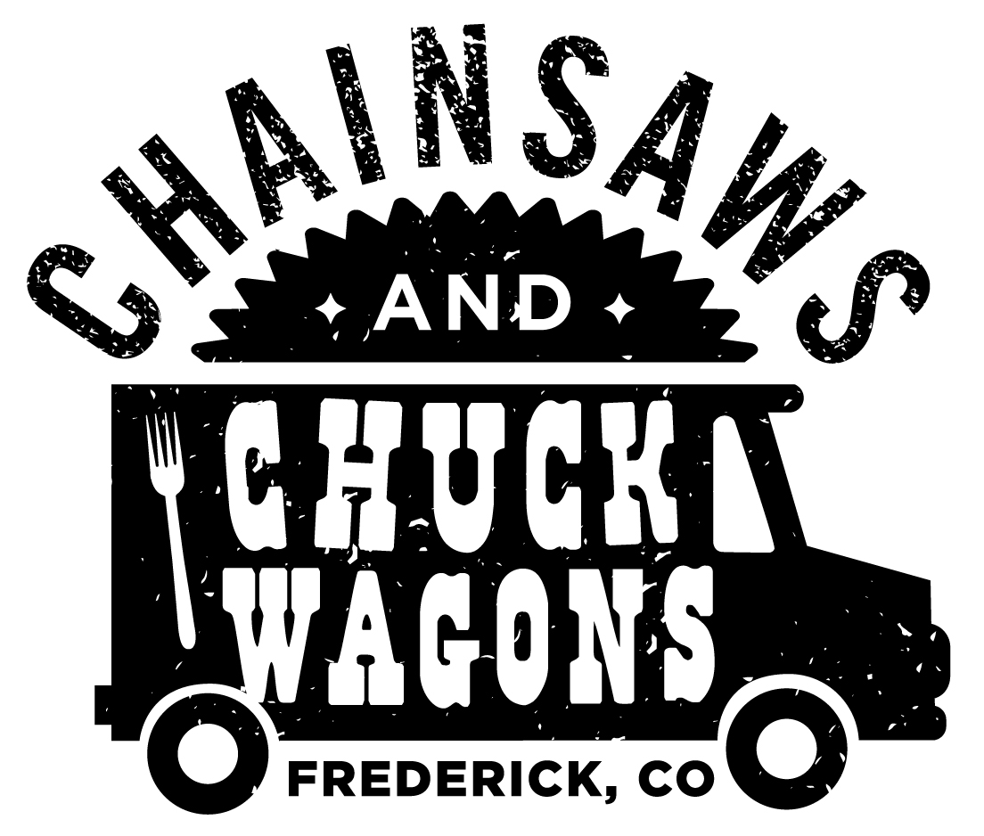 Chainsaws and Chuckwagons logo